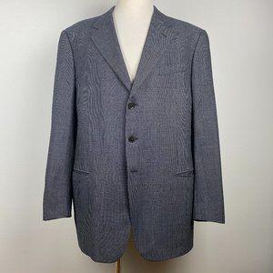 Armani Collezioni Gray Check Sport Coat